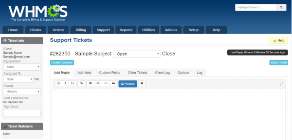 Screenshot 3 - Auto Create Clients - WHMCS Addon